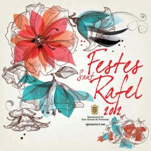 Cartel Fiestas Sant Rafel 2012