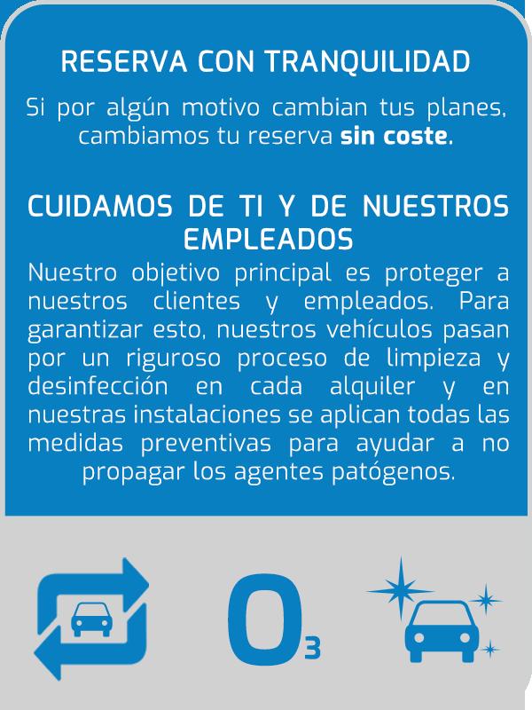 Alquiler de coches en Ibiza seguro